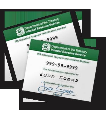 Tax ID (ITIN)